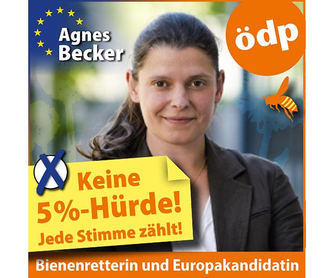 ÖDP Agnes Becker Europawahl
